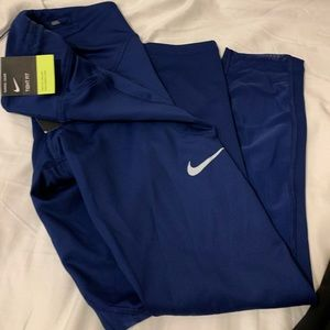 Nike gym pants, crop style tight fit brand new.
